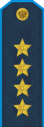 RFAF - General of the Army - Every day blue