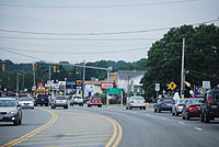 RI 108 and US 1 in Narragansett.JPG