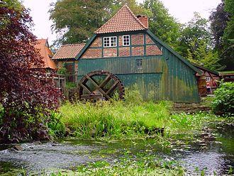 Bille (Elbe) - Bille at Grander Mühle