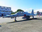 ROCAF F-5F 5412 Display at Chih Hang Air Force Base Apron 20130601b.jpg