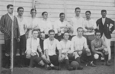 Racing Club cap el 1910.