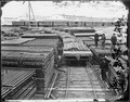Rails for military railroad, Alexandria, Va - NARA - 528895.tif
