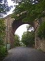 Railway Bridge over Thornhills Beck Lane, Clifton - geograph.org.uk - 250126.jpg