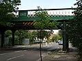 Railway bridge, Turney Road - geograph.org.uk - 1435043.jpg