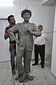 Raj Kapoor Statue In Progress - Kolkata 2017-08-08 4203.JPG