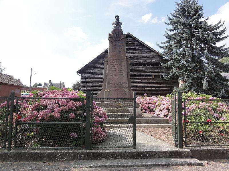 Ramicourt (Aisne) monument aux morts