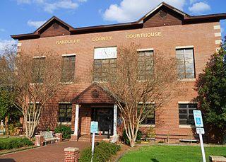 Randolph County, Alabama County in Alabama, United States
