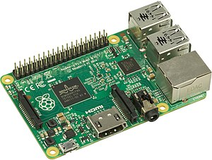 Raspberry Pi - The Raspberry Pi 2 uses a 32-bit 900 MHz quad-core ARM Cortex-A7 processor.