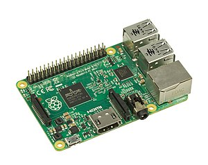 System on a chip - The Raspberry Pi uses a system on a chip as an almost fully-contained micro computer. This SoC does not contain any kind of data storage, which is common for microprocessor SoC.