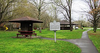 Red Boiling Springs, Tennessee - Red Boiling Springs park