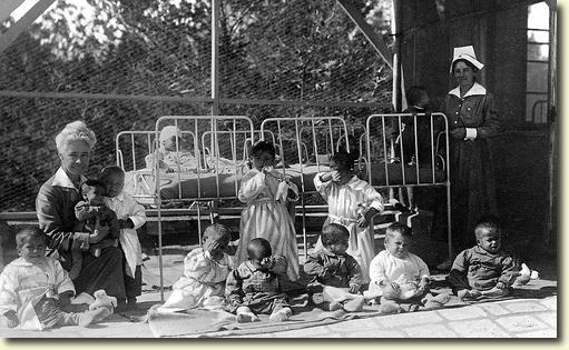 Red Cross children's hospital in Jerusalem 1919