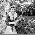 Redaktör Eva Wennerström-Hartman, Kåbo, Uppsala september 1960 t.jpg
