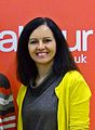 Redhill Holy Trinity Church Hall - Mar 2012 - Caroline Flint MP with Rhys.jpg