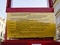 Reko TT Malostranské náměstí, Švandovo divadlo, informační tabule.jpg