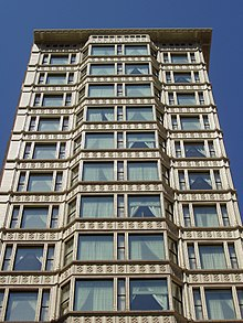 «Reliance Building». Arquitecto : Daniel Burnham. Chicago, Estados Unidos de América.