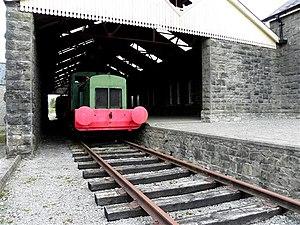 Belturbet railway station - Image: Remaining track, Belturbet Railway Station geograph.org.uk 2925908