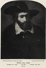Portrait of a Seated Jew in a Broad Black Hat