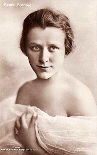 Renée Björling Swedish actress