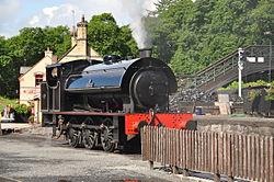 Repulse at Haverthwaite railway station (6567).jpg