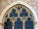Reuleaux triangles on a window of Onze-Lieve-Vrouwekerk, Bruges 1.jpg