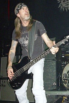 Rex Brown so skupinou Down v roku 2008