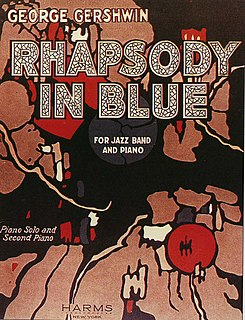 <i>Rhapsody in Blue</i> 1924 composition by George Gershwin