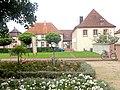 Rheinmünster, Klosterkirche Schwarzach, Garten 2.jpg