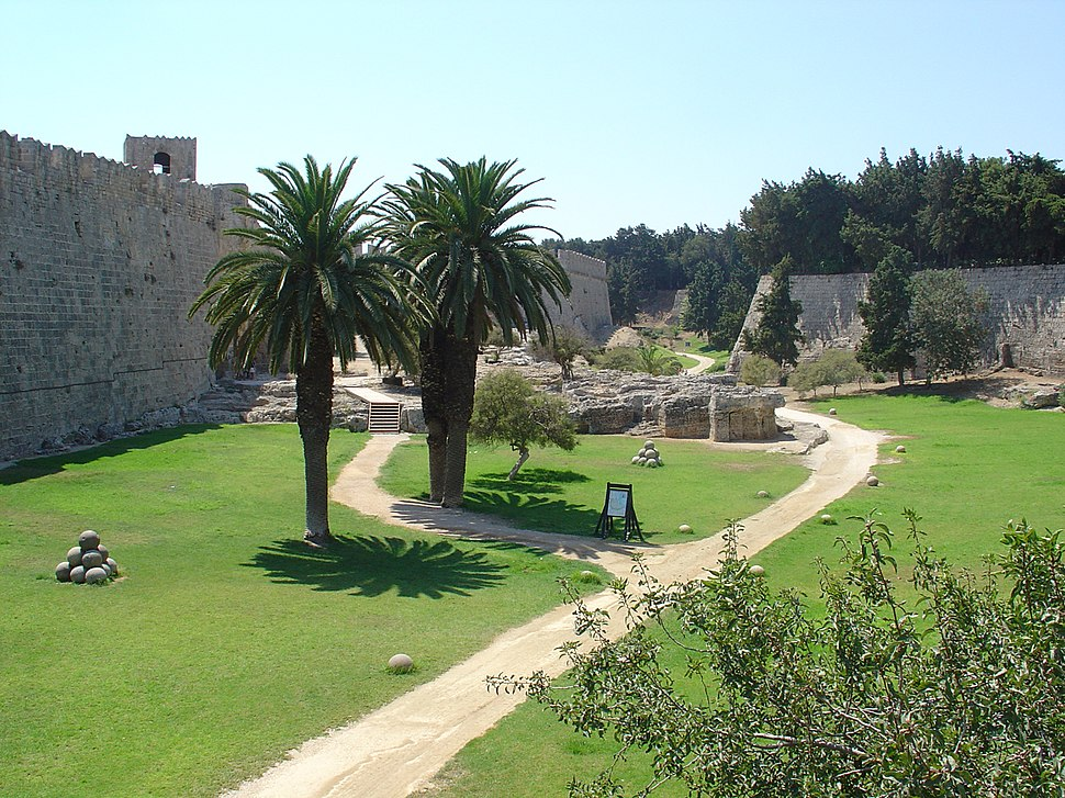 Rhodes Old Town Fortifications 9