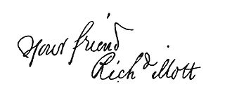 Richard Mott - Image: Richard Mott signature