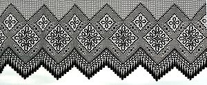 English: Lace curtain Français : Rideau de den...