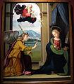 Ridolfo del ghirlandaio, annunciazione, 1515 ca, da pieve di s. pietro a pitiana (reggello) 01.JPG