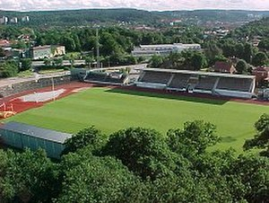 Division 1 (Swedish football) - Rimnersvallen in Uddevalla.