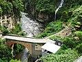 Rio que pasa debajo del es Santuario de las Lajas.jpg