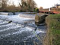River Colne, Overspill weir from the Grand Union Canal - geograph.org.uk - 106059.jpg