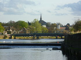 River Esk at Musselburgh