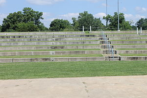 Vidalia, Louisiana - Riverfront amphitheater in Vidalia