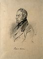 Robert Brown. Pencil drawing by C. E. Liverati, 1841. Wellcome V0000810.jpg