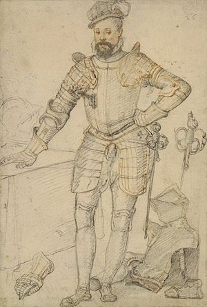Kenilworth (novel) - Robert Dudley, Earl of Leicester, in 1575