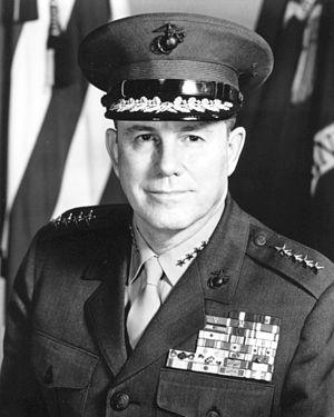 Robert E. Cushman Jr. - 25th Commandant of the Marine Corps (1972-1975)