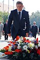 Robert Fico, Slovak Prime Minister at the Ceremony of laying wreaths, the 67th anniversary of the Slovak National Uprising, August 2011.jpg