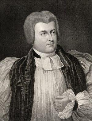 Robert Carr (bishop) - Engraving in bishop's robes