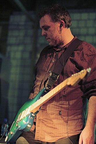Robin Guthrie - Robin Guthrie performing in October 2008