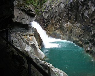 Rofla Gorge - Rofla Gorge footpath