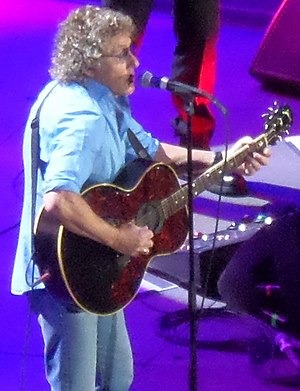 Roger Daltrey - Daltrey with the Who at the Manchester Arena, 2014