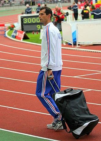 Romain Mesnil - Image: Romain Mesnil décanation 2006