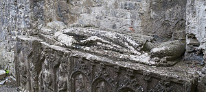 Felim Ua Conchobair - Image: Roscommon St. Mary's Priory Choir Tomb Effigy 2014 08 28