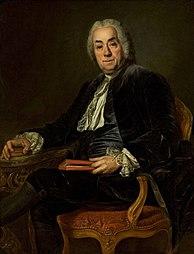 Portrait of Count de Caylus.