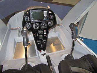 RotorWay A600 Talon - Rotorway A600 Talon cockpit