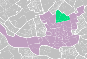 Hillegersberg-Schiebroek - Image: Rotterdamse wijken hillegersberg schiebroek