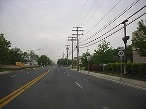 New Jersey Route 33 - Route 33 westbound in Neptune